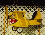Custom Airplane Swing (with Graphic, Fuselage)