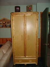 Custom Log Armoire
