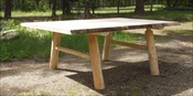 Log Banquet Table