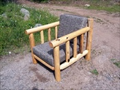 Log Deck Lounge Chair (with Cushions)