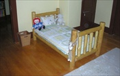 Log Toddler Bed