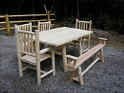 Standard Log Dining Table (2x6)