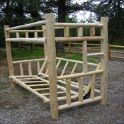 Twin Over Futon Bunk (Without Drawers)
