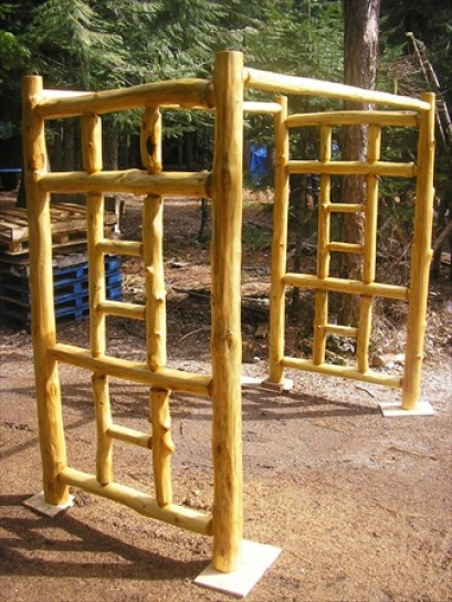 Knotty Pine Twin Bunk Bed