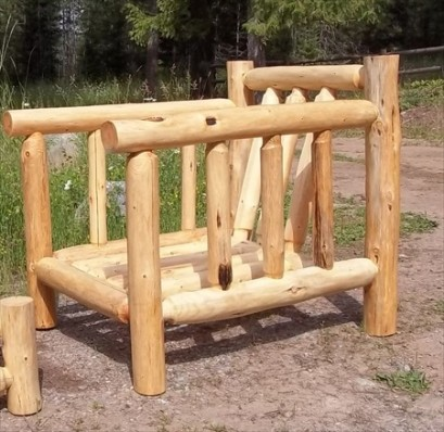 Log Deck Lounge Chair (no Cushions)