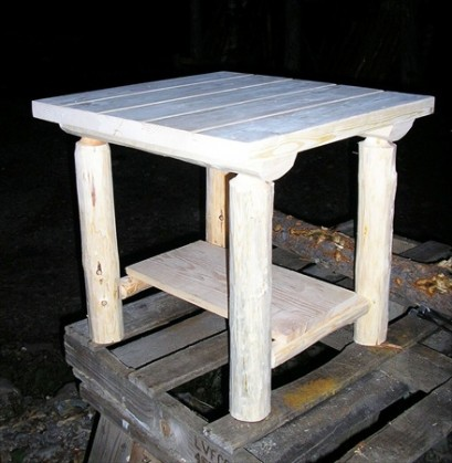 Log End Tables (T&G)