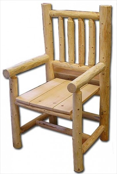 Log King Dining Chair