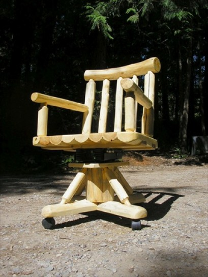 Log Office Chair