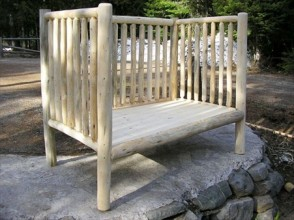 Log Toddler Day Bed